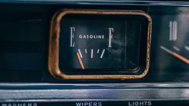 Gas Gauge on Empty